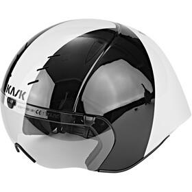 Kask Mistral Helm schwarz / weiß